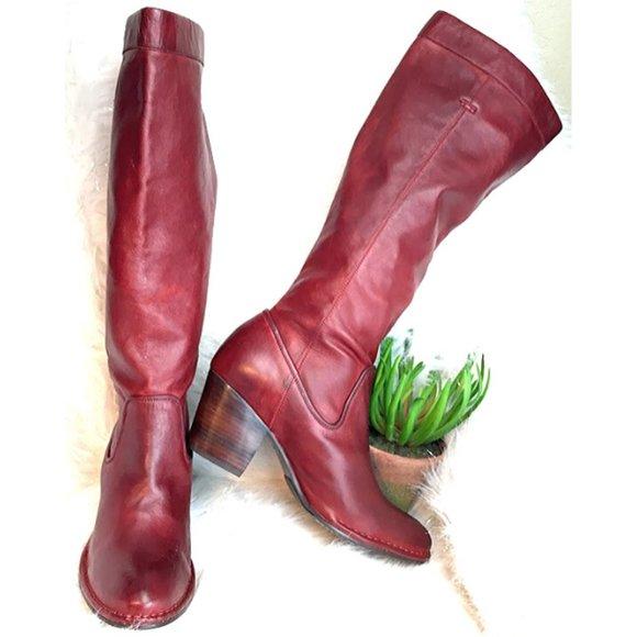 Frye Rory Scrunch Boots SZ 10
